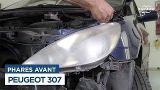 307 Peugeot - Changer les phares avant