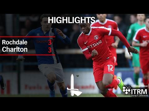 HIGHLIGHTS  | Rochdale 3 Charlton 3