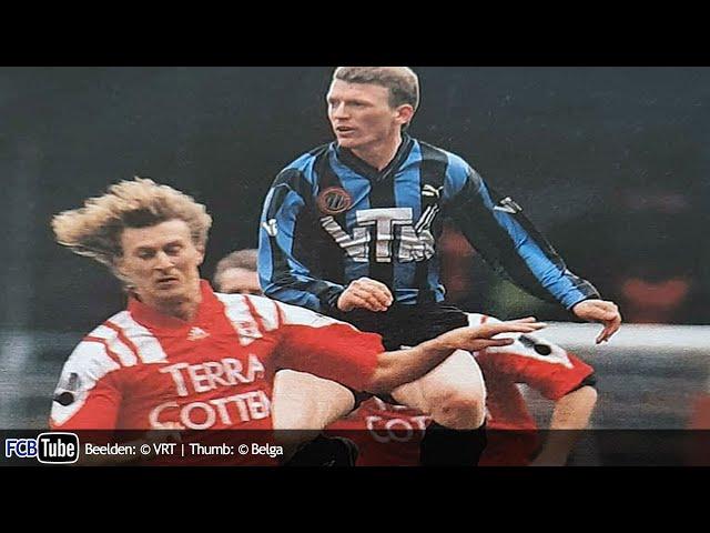 1993-1994 - Jupiler Pro League - 30. Club Brugge - SV Waregem 3-1