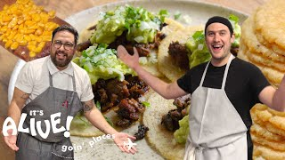 Brad Makes Tortillas | It's Alive: Goin' Places | Bon Apptit