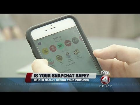 Is your snapchat safe?