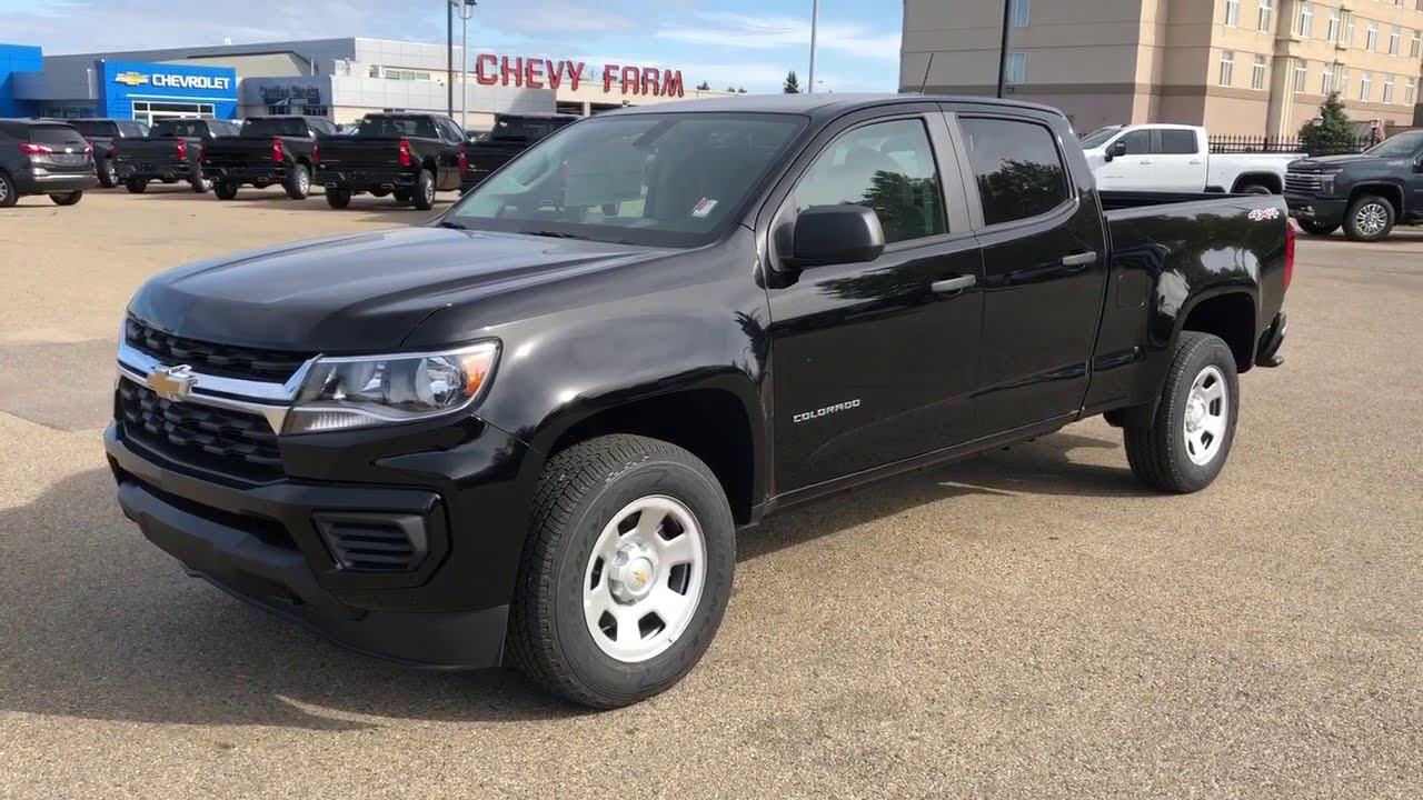 2021 Chevrolet Colorado Work Truck Review Youtube
