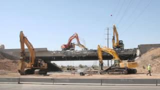Check It Out: I-10 Bridge Demolition Time Lapse (043014)