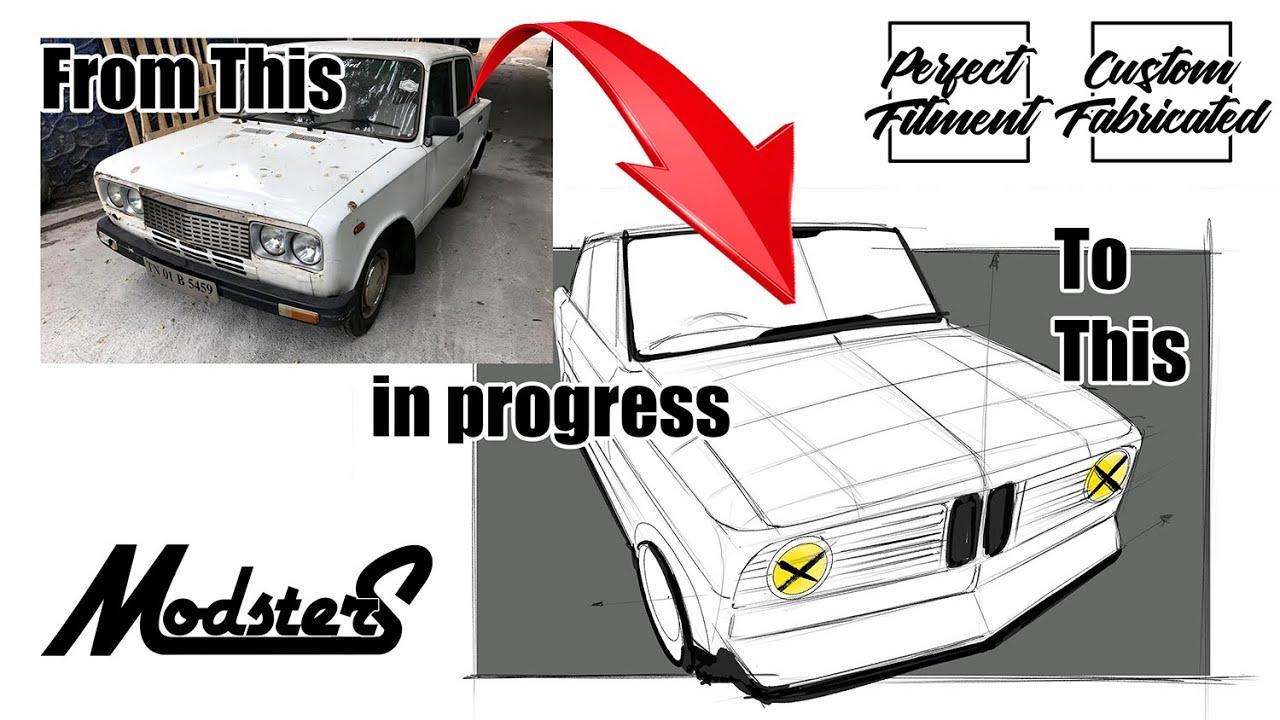 Fiat Premier 118 NE Modified by Modsters Automotive | Restoration | Indian Classic Cars