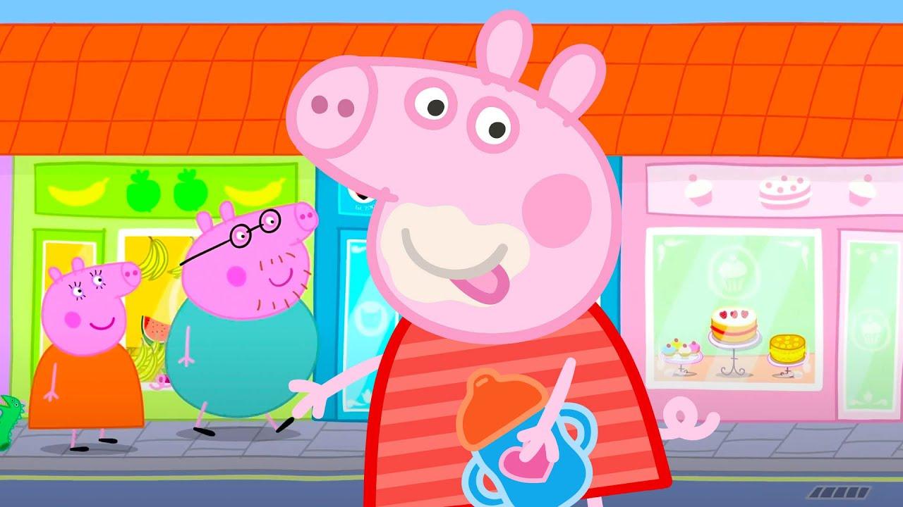 Peppa Pig Português Brasil | Peppa vai à cidade | Desenhos Animados