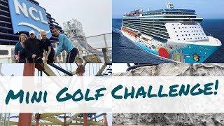 Norwegian Breakaway Tour: Sports Court Fun Vlog l Ep. 29