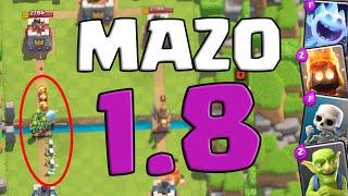 ¡¡MAZO 1.8 ELIXIR!! - BUENÍSIMO y BARATO | Clash Royale