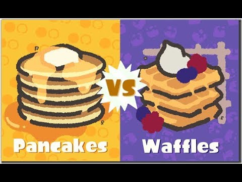 GO TEAM WAFFLES! (Splatoon 2 Waffles vs Pancakes Splatfest)