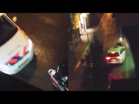 Heftig! Politie ramt ramkrakers