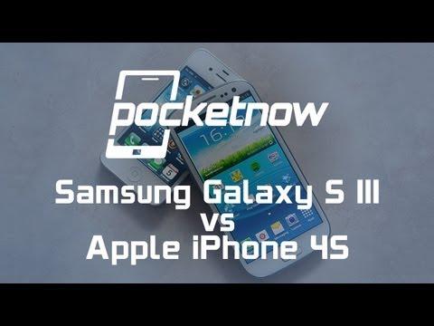 Samsung Galaxy S III vs. iPhone 4S