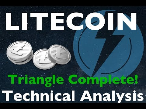 Litecoin Continuation Pattern Confirmed - January 13th 2018 Technical Analysis