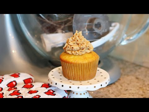 Whipped PEANUT BUTTER Frosting! - MANCAKE