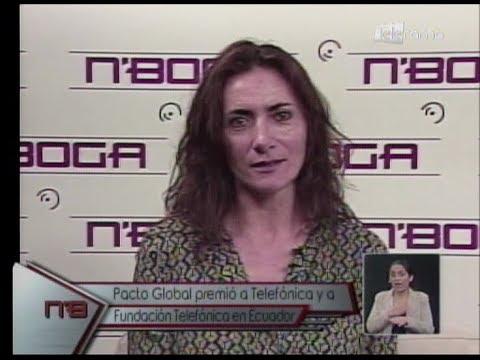 Pacto Global premió a Telefónica y a Fundación Teléfonica en Ecuador