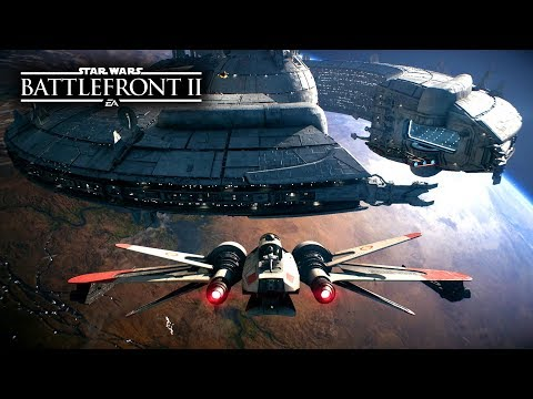 Star Wars Battlefront 2 - NEW SPACE BATTLES Gameplay! ARC-170, Kylo Ren, Yoda Starfighters!