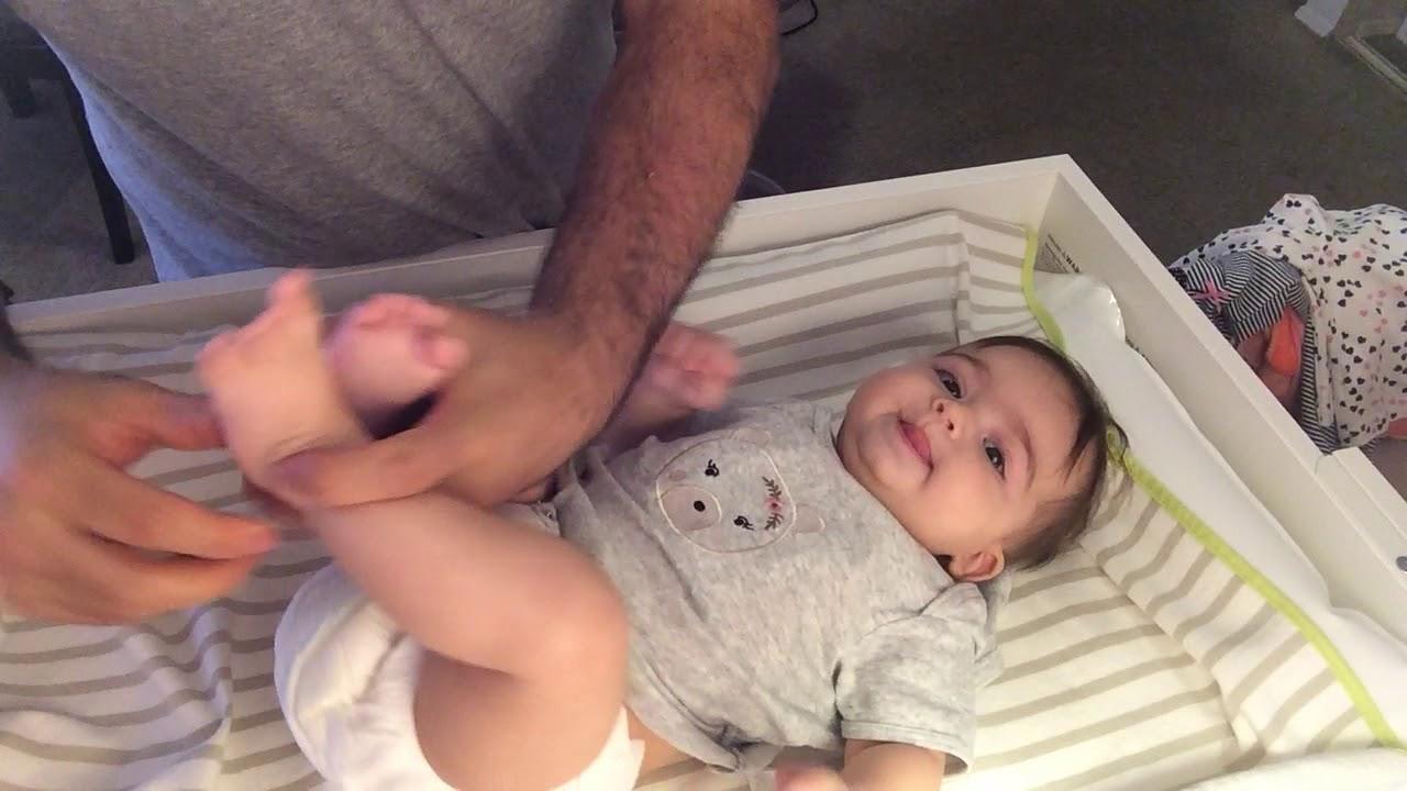 Download Dressing baby girl Liana Cute girl Liana
