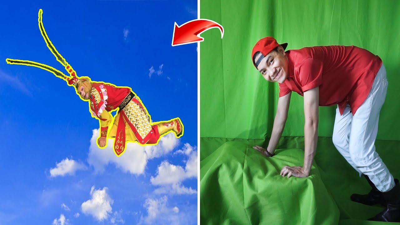 Cách Làm Video Bay Trên Mây Như Tôn Ngộ Không CỰC DỄ