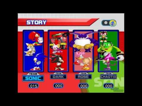 Sonic Heroes Soundtrack - System Screen (Select)
