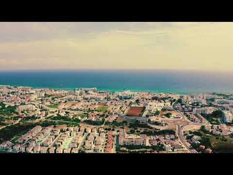 Cyprus Panorama from Drone in UHD Fuji Kodak Luts