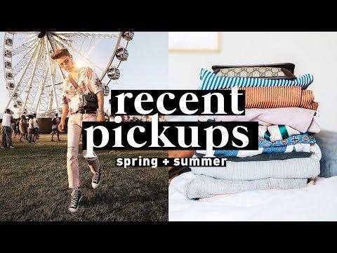 TRY ON HAUL Spring/Summer 2018 - Urban Outfitters, Topman, Pacsun // Imdrewscott