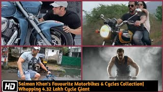 Salman Khan's Favourite Motorbikes & Cycles Collection|Whopping 4.32 Lakh Cycle Giant