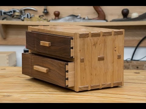 two-drawer-dovetail-box---hickory-and-walnut---282