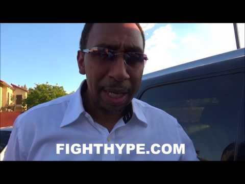STEPHEN A. SMITH REVEALS FAVORTIE FLOYD MAYWEATHER PERFORMANCE; COMPARES HIM TO ALL-TIME GREATS