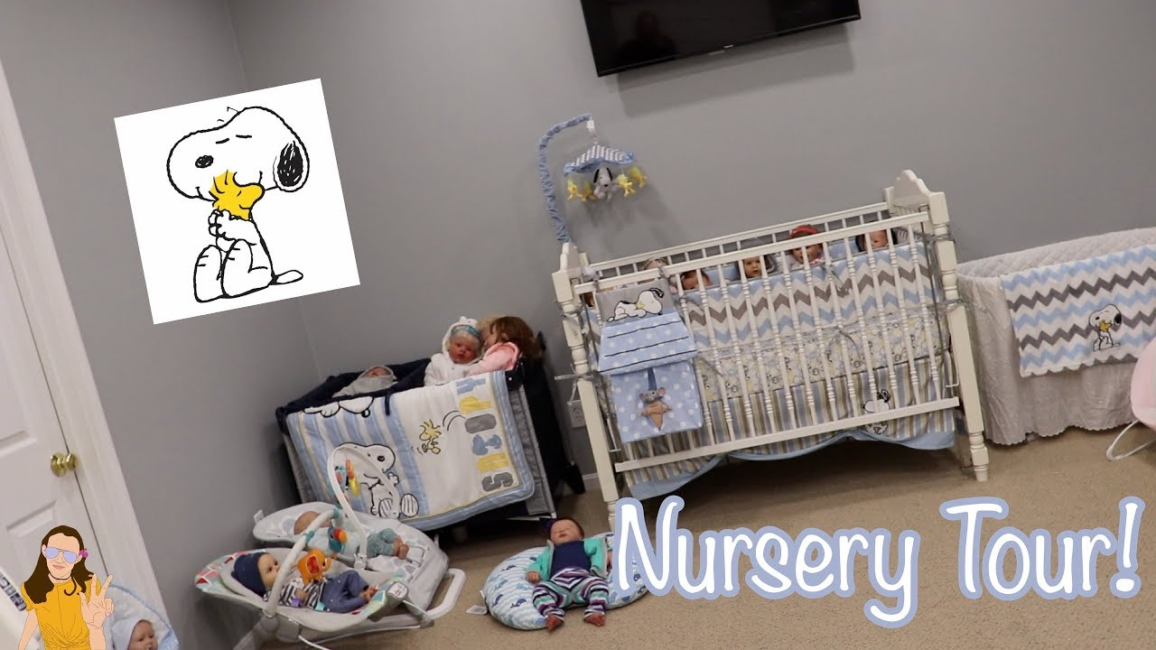 Baby Nurseries 2019 2019 Reborn Baby Nursery Tour! New u0026 Improved!! | Kelli Maple