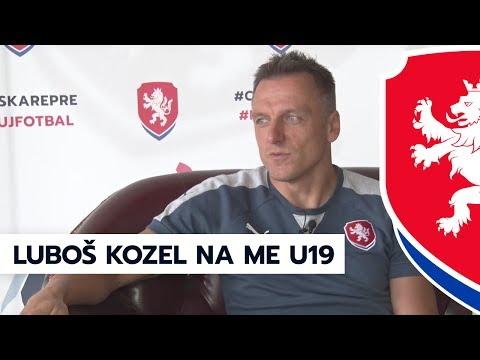 Trenér Luboš Kozel v roli pozorovatele na ME U19 2017 v Gruzii (7. 7. 2017, Tbilisi)