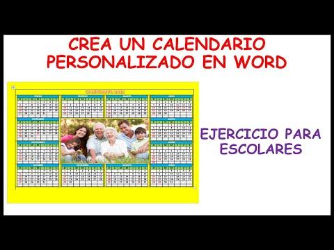Como Hacer Un Calendario En Word.15 Como Crear Un Calendario 2019 En Word 2013