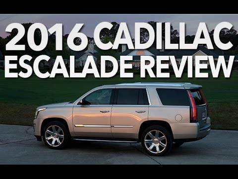 Best Luxury Suv Of 2016 Cadillac Escalade Video Review Youtube