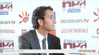 Colloque NPA-Le Figaro 2015 : Alexandre Bompard, FNAC
