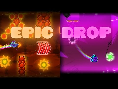 2 LEVELS WITH EPIC DROP! (Geometry dash 2.1)