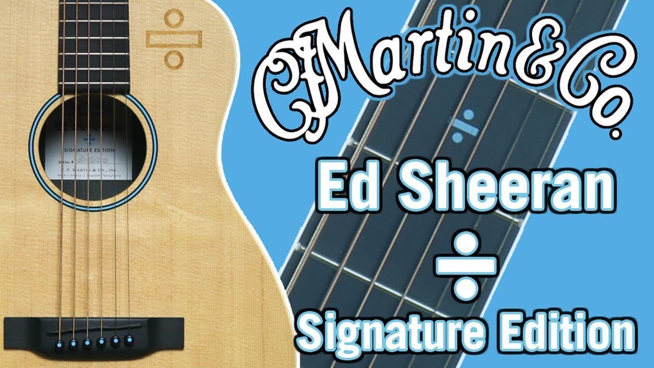 martin ed sheeran signature