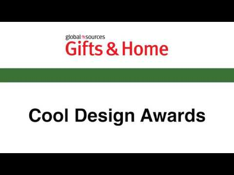 The Cool Design Awards – Global Sources Gifts & Home