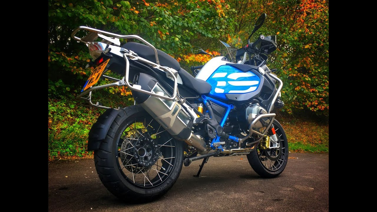 2018 BMW R1200 GS Adventure Review - First look at the TFT screen ...