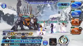 [DFFOO JP] Gilgamesh Event EX 213,350 Score