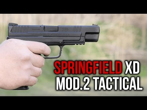Springfield XD Mod.2 Tactical Review: An Updated Modern Classic