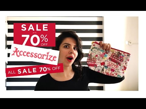Accessorize Sale Haul - Flat 70% Off | Heli