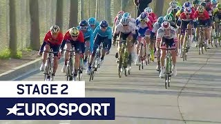 Volta a Catalunya 2018 | Stage 2 Final Kilometre | Cycling | Eurosport