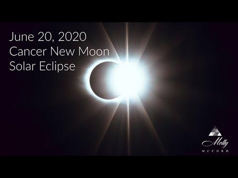 🌟 MEGA Solar Eclipse! 💫 June 20/21 Cancer New Moon ~ Inception Of New Divine Feminine Energies
