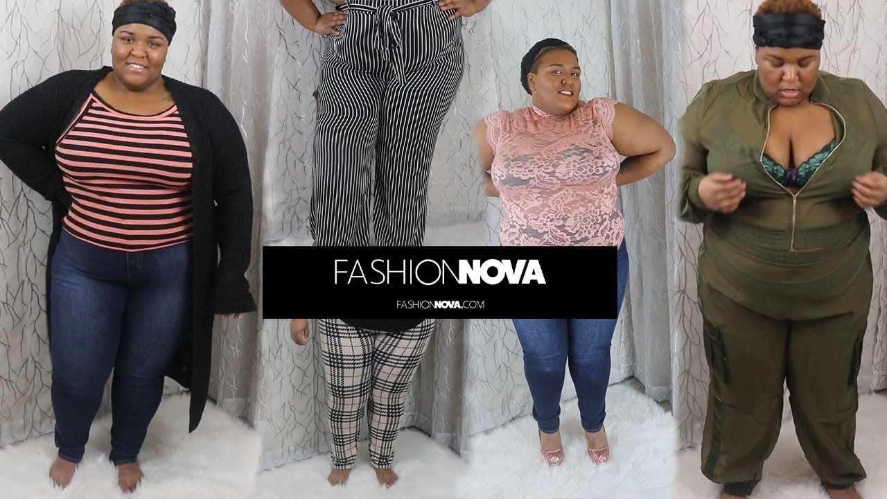 Apple-shaped NOVA BABE??? Plus Size try-on Fashion Nova Haul ...