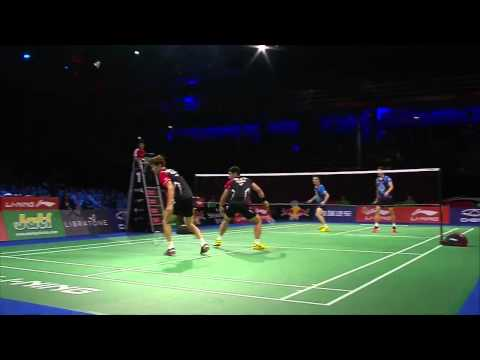 F - MD - 2014 BWF World Championships - Lee Y.D/Yoo Y.S VS Ko S.H/Shin B.C
