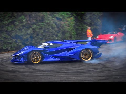 The BEST & WORST Supercar PowerSlides! Goodwood FOS 2019