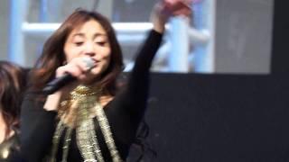 声優のたかはし智秋さんがステージをしてました。
