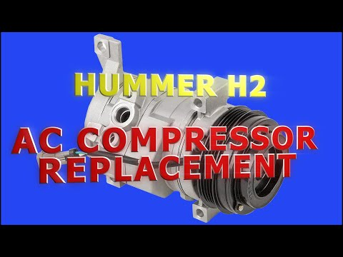 Hummer H2 2005 – AC Compressor Replacement & System Service