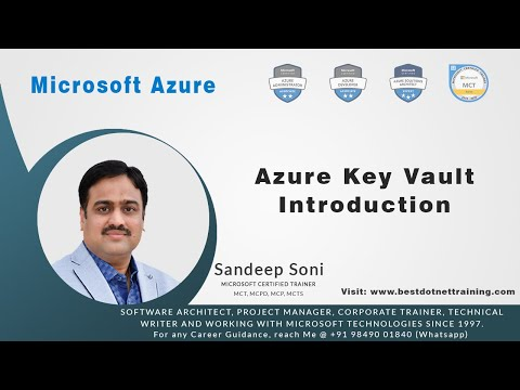 Microsoft Azure | Getting Started With Azure Key Vault