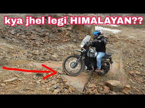 How much can the Himalayan take | RE Himalayan off roading | NCR MOTORCYCLES |