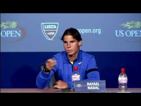 2011 US Open Press Conferences: Rafael Nadal (Fourth Round)