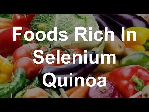 Foods Rich In Selenium - Quinoa