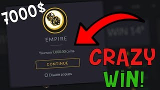 CS:GO - Crazy 7000$ Win For Charity! (Gambling Funny Moments)